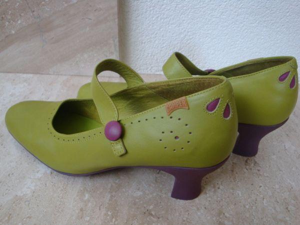 """Attēlu rezultāti vaicājumam """"camper heels shoes green purple"""""""
